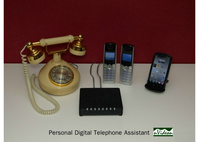 A Low Cost Personal Digital Telephone Assistant – screenshot 1