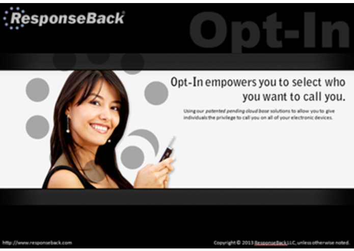 ResponseBack Opt-In – screenshot 1