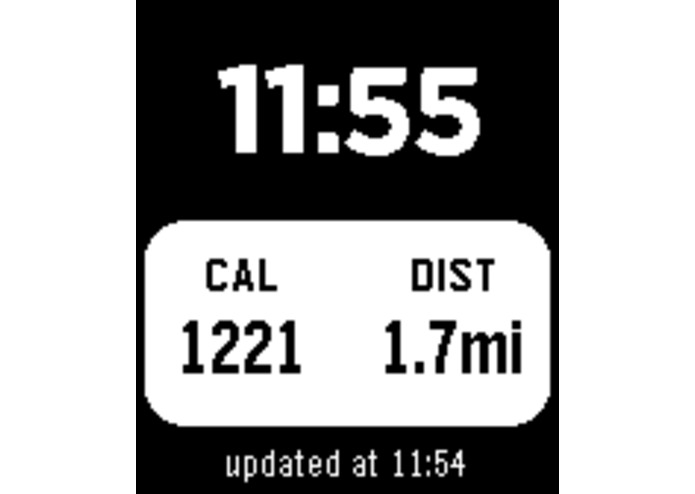 Movable for Pebble - Activity Tracker – screenshot 2