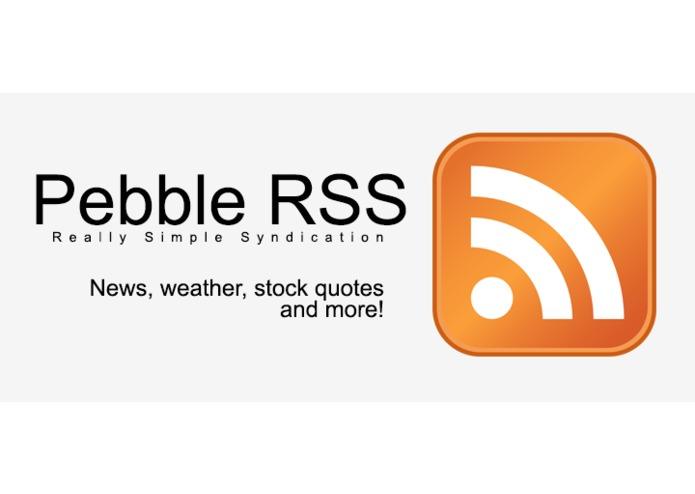 Pebble RSS – screenshot 1