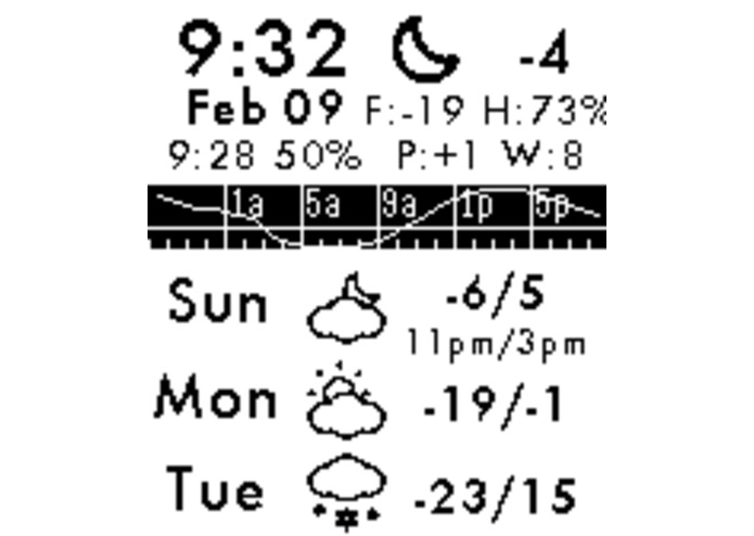 Forecast Weather – screenshot 1