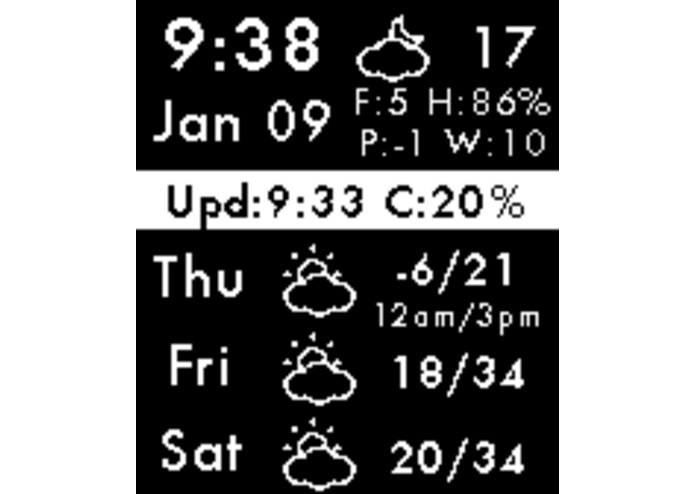 Weather Forecast – screenshot 2