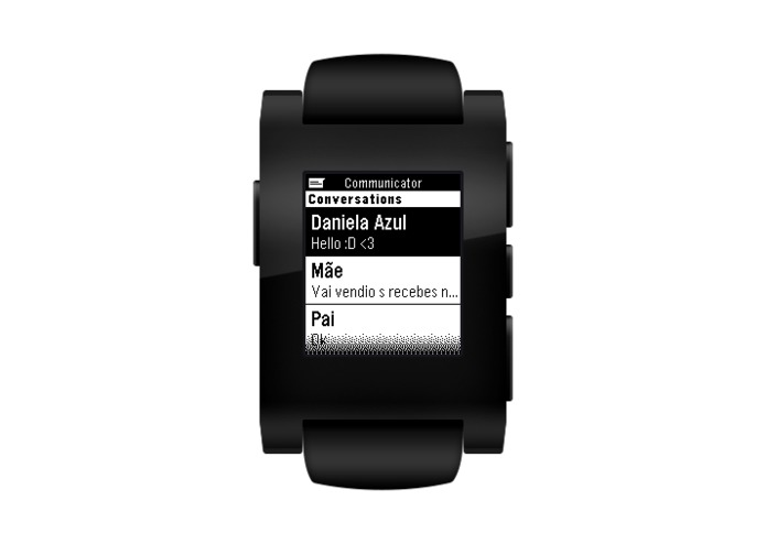 Pebble Communicator – screenshot 2