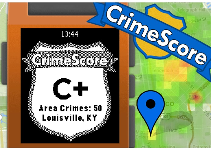 CrimeScore: GPS Safety Rating – screenshot 1