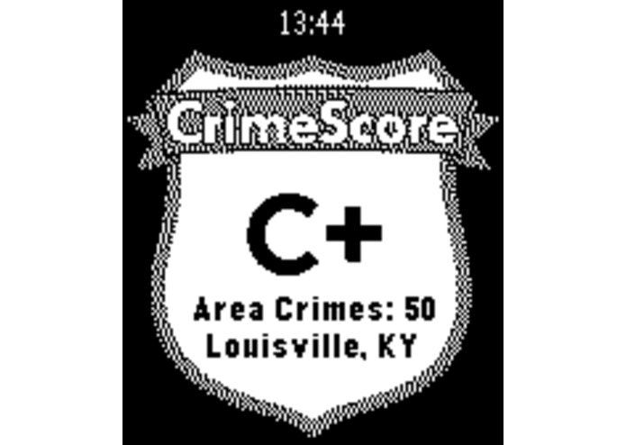 CrimeScore: GPS Safety Rating – screenshot 2