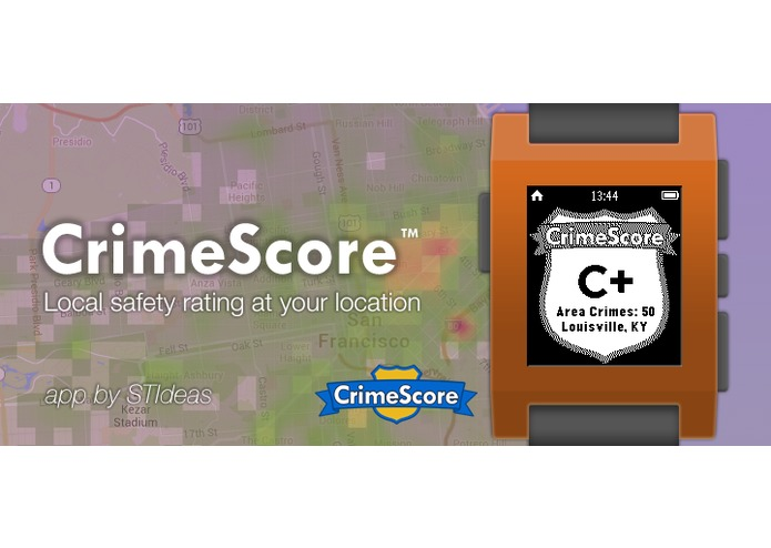 CrimeScore: GPS Safety Rating – screenshot 3