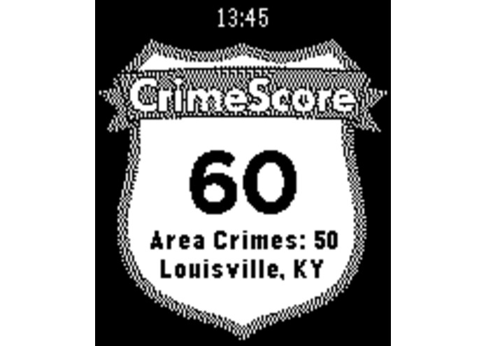 CrimeScore: GPS Safety Rating – screenshot 4