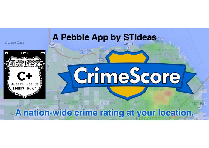 CrimeScore: GPS Safety Rating – screenshot 5