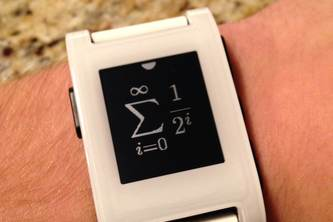 Math Geek Watchface