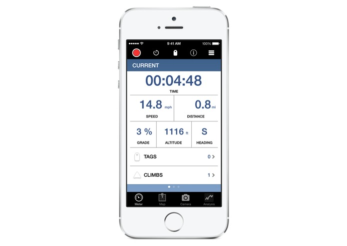 Bike+ Pebble App – screenshot 3