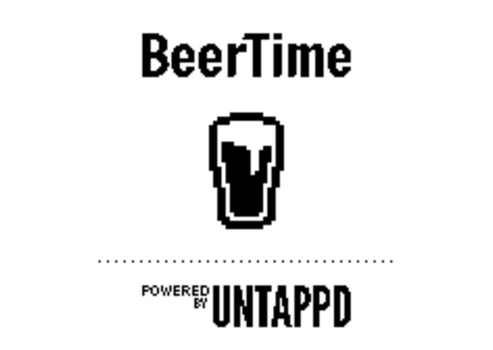 BeerTime, an Untappd client for Pebble – screenshot 1