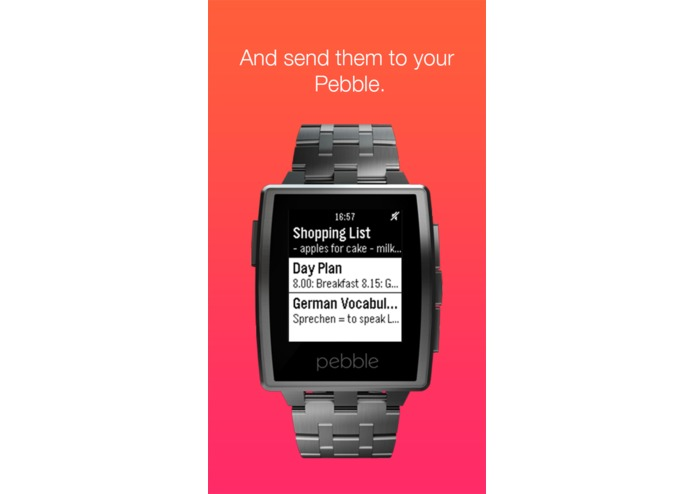 Pebble Notes – screenshot 3