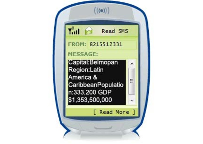 Sms the World Bank – screenshot 2