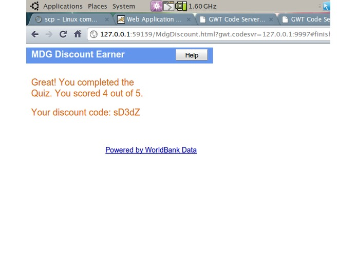 MDG Challenge Tool (MDG Discount Earner) – screenshot 3