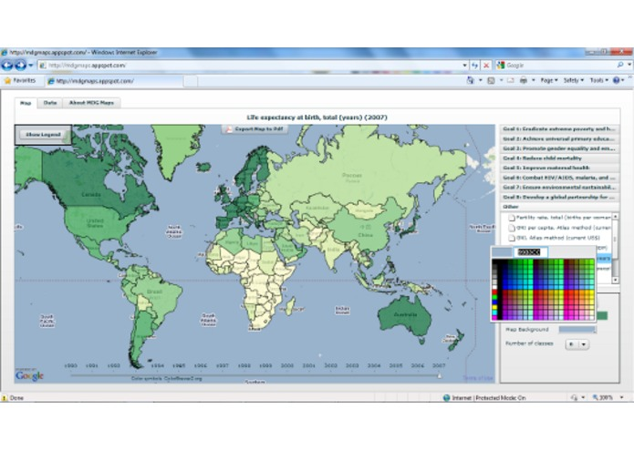 MDG Maps – screenshot 3
