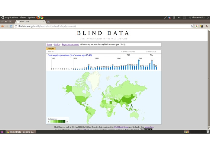 Blind Data – screenshot 3
