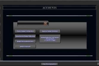 Budget and Finance Monitoring System