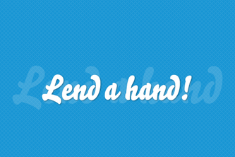 Lend a hand! - Easy volunteering