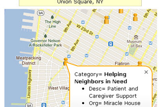 NYC Volunteer Opportunities Finder App