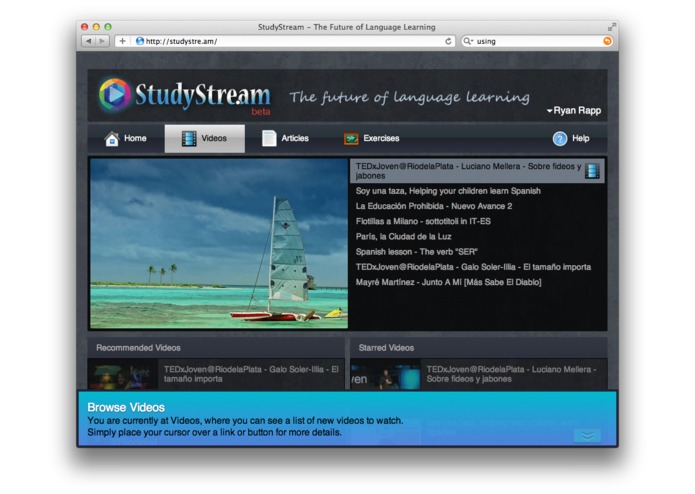 StudyStream - Online Language Learning – screenshot 1