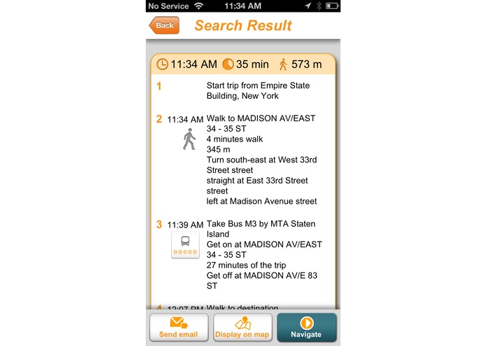 Moovit – screenshot 4