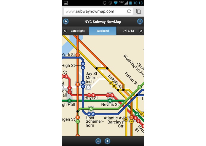 Subway NowMap – screenshot 4