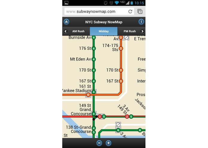 Subway NowMap – screenshot 5