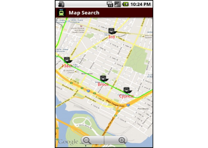 NYC Subway Time for All Train Lines (Design for Android) – screenshot 3