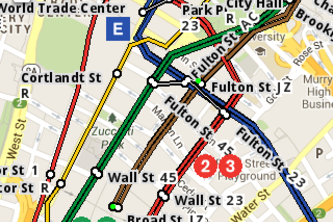 Big Apple Subway Map
