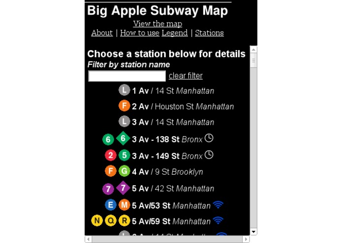 Big Apple Subway Map – screenshot 4