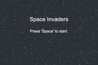 Space Invaders - with Leap Motion