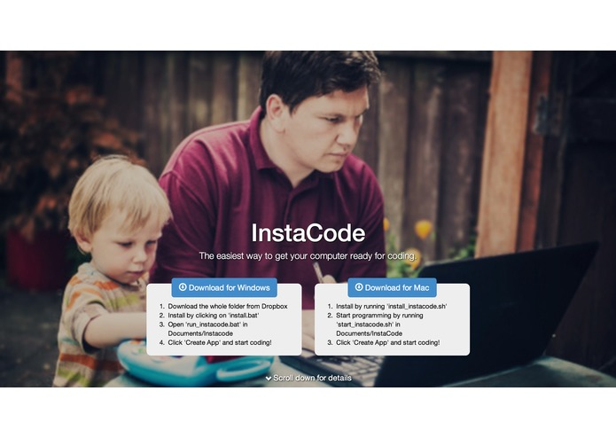 InstaCode – screenshot 1