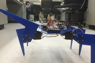 Twitchy the Hexapod