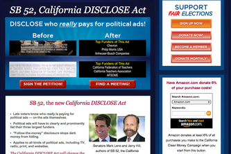 California Clean Money Campaign Projects