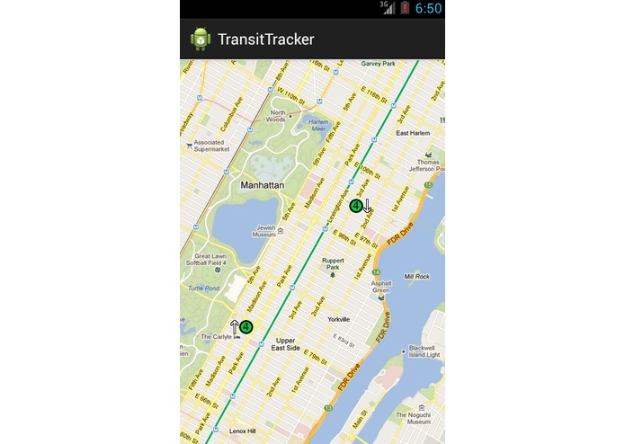 Hackathon - TransitTracker – screenshot 1
