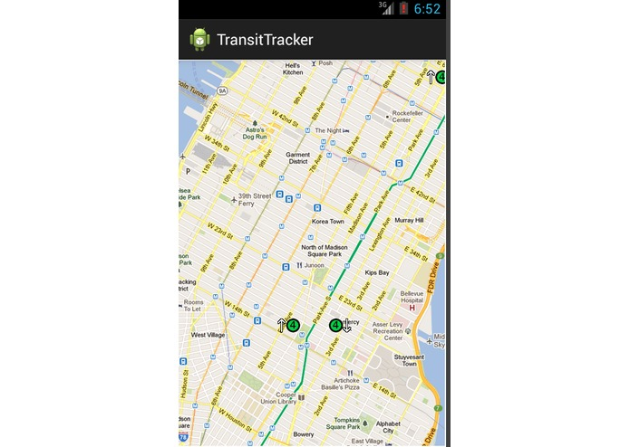 Hackathon - TransitTracker – screenshot 2