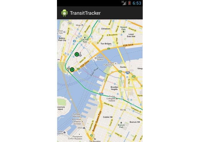Hackathon - TransitTracker – screenshot 3