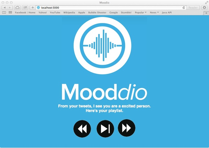 Mooddio – screenshot 2