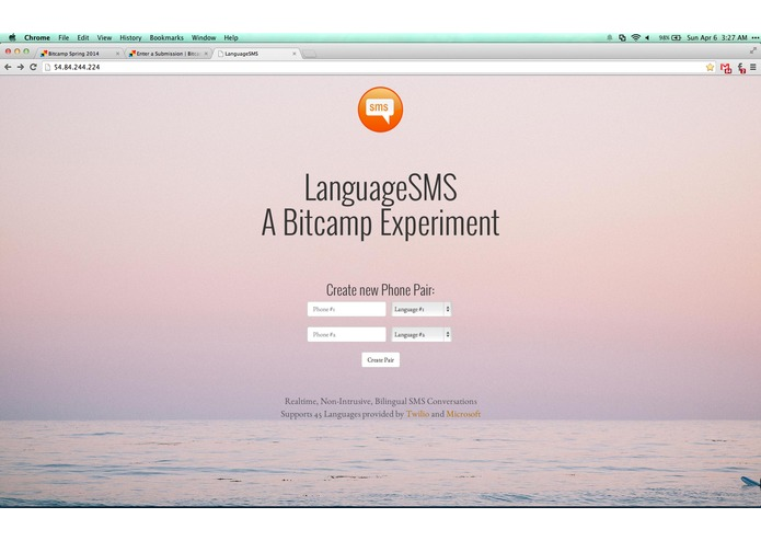 LanguageSMS – screenshot 2