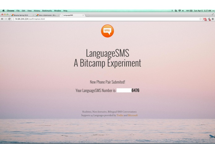 LanguageSMS – screenshot 3