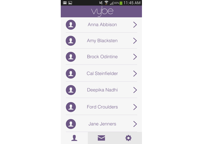Vybe: Easily Grab the Attention of Your Friends – screenshot 2