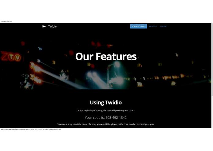 Twidio – screenshot 1