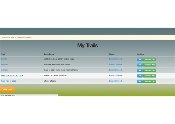 Trailblaze – screenshot 3