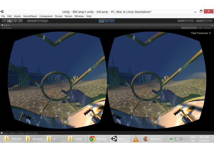 Bermuda Triangle: Oculus Rift and LeapMotion Game – screenshot 1