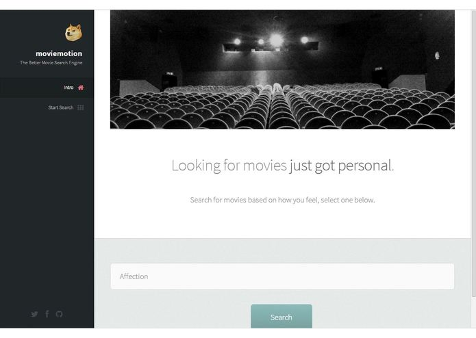 Moviemotion – screenshot 1