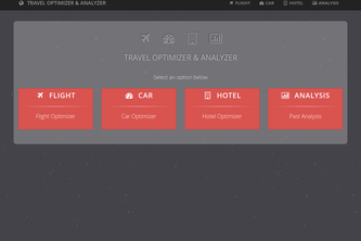TRAVEL OPTIMIZER & ANALYZER