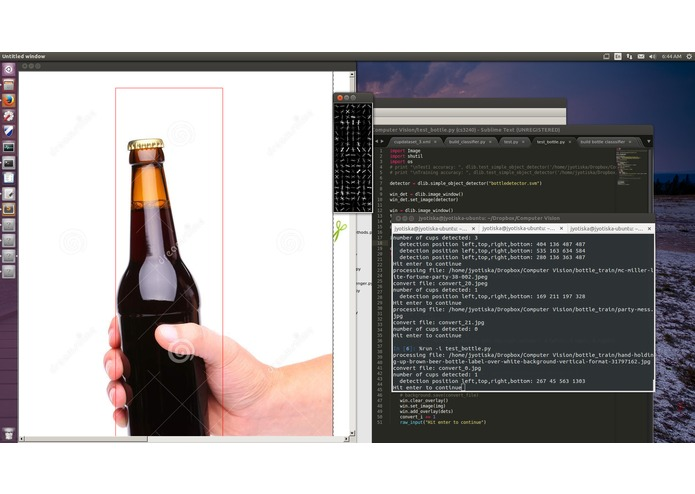 Beer Detector (bottle and cup detector) – screenshot 3