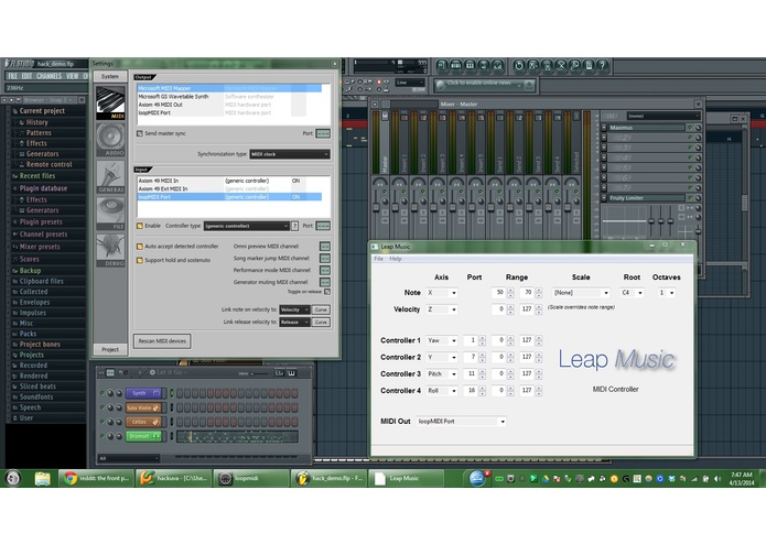 Leap Music – screenshot 1