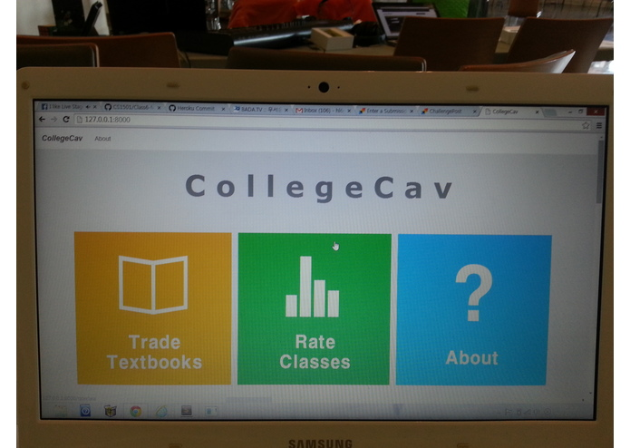 CollegeCav – screenshot 1