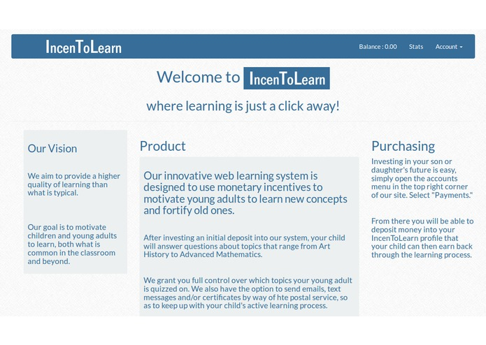 IncenToLearn – screenshot 2
